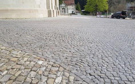 Einsatz für hindernisfreien Klosterplatz Einsiedeln