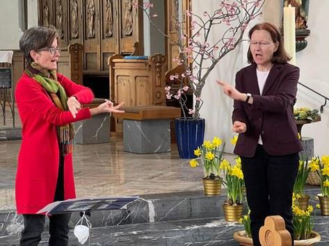 Kraftvoller Auferstehungsgottesdienst am Ostermontag