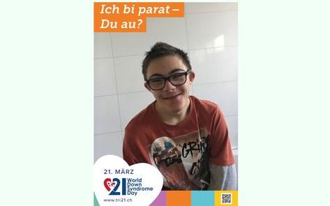 Welt Down Syndrom Tag vom 21. März 2018