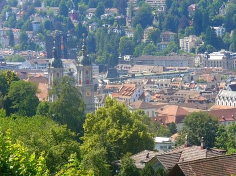 Die Stadt St. Gallen