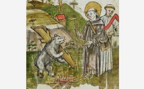 Kloster St. Gallen und die drei Weier