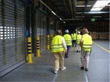 Besuch der Ja-SL  im Migros Verteilerbetrieb Neuendorf, Volketswil,
