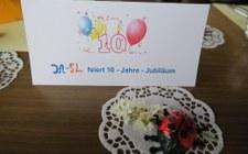 Gruppe ja-SL feiert 10 - Jahre - Jubiläum