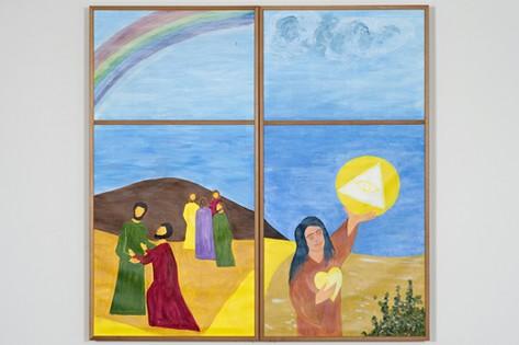 Aussenansicht Altarbild