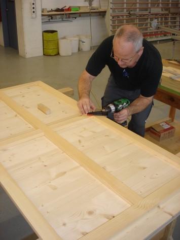 Herstellung Holzrahmen  Teil 2